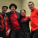 David, Ralf, Steffi, Wlody